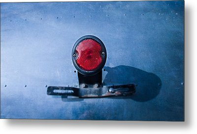 Teardrop Taillight Metal Print by YoPedro