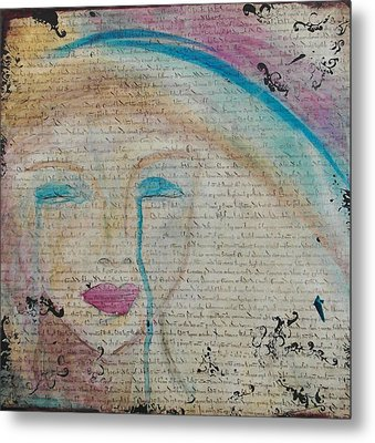 Tears Of Hope Metal Print by Debbie Hornsby