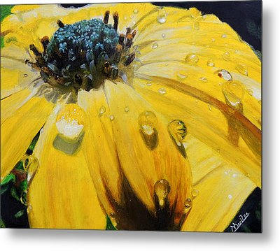 Tears Of The Sun Metal Print by Maritza Tynes