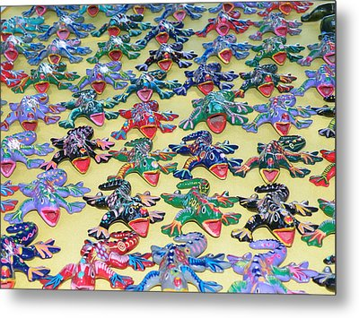 Metal Print featuring the photograph Technicolour Nightmare by Brian Boyle