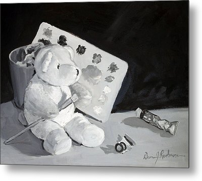 Teddy Behr The Painter #2 Metal Print by Dan Redmon