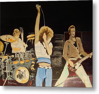 Teenage Wasteland Metal Print