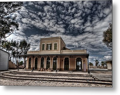Tel Aviv First Railway Station Metal Print by Ron Shoshani