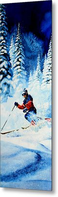 Telemark Trails Metal Print