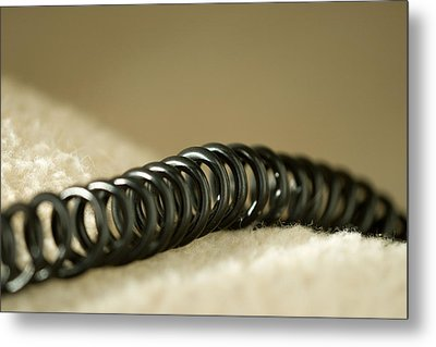 Telephone Cord Metal Print by Celso Diniz