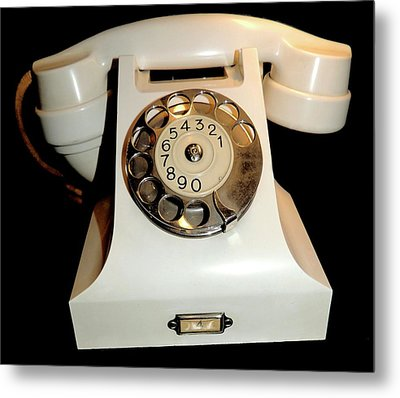 Telephone Used By The King Of Norway Metal Print by Universal History Archive/uig