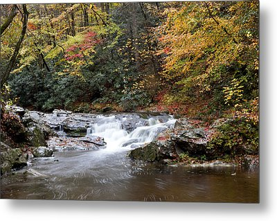 Metal Print featuring the photograph Telico River Cascade by Robert Camp