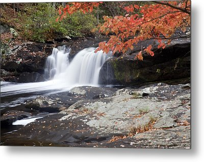Metal Print featuring the photograph Telico River Waterfall by Robert Camp
