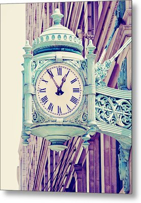 Telling Time Metal Print by Melanie Alexandra Price