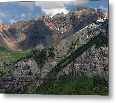 Metal Print featuring the photograph Telluride Box Canyon by Robert Lozen