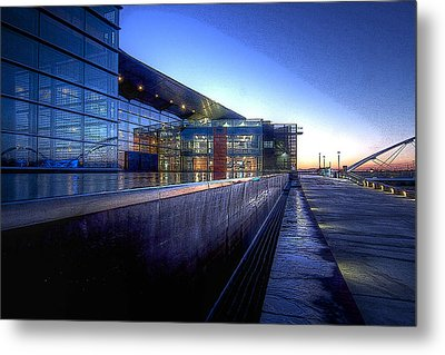 Tempe Center For The Arts Metal Print