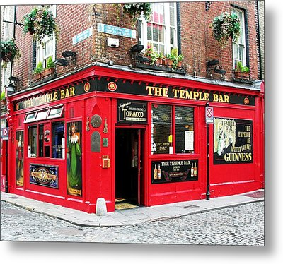 Temple Bar Metal Print