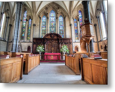 Metal Print featuring the photograph Temple Church by Ross Henton