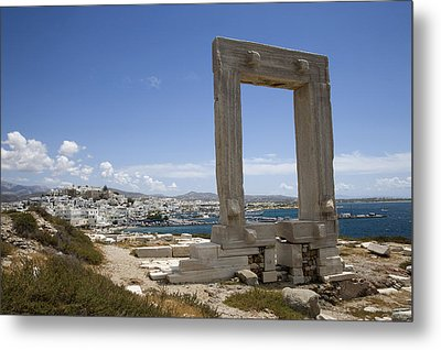 Temple Of Apollo Metal Print by Jim  Wallace