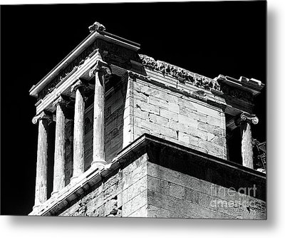 Temple Of Athena Nike Metal Print
