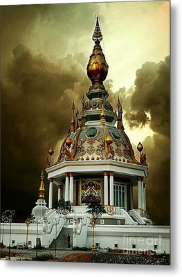 Temple Of Clouds  Metal Print by Ian Gledhill
