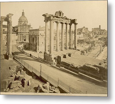 Temple Of Concord Metal Print