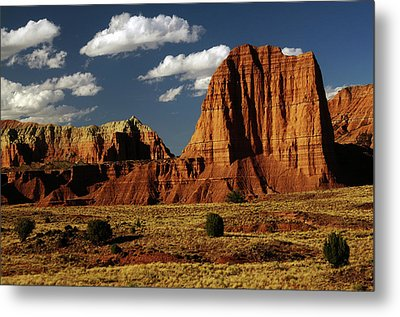 Temple Of The Moon, Jacob's Wall Metal Print by Michel Hersen