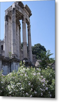 Temple Of Vesta Metal Print
