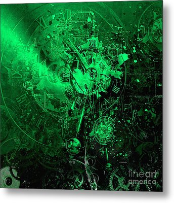 Temporal Solution Metal Print