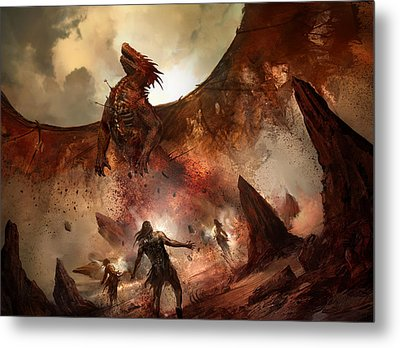Tempt With Immortality Metal Print
