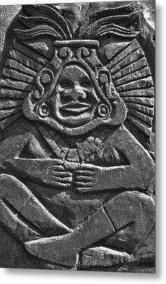 Tenancingo's Malinche Metal Print by John  Bartosik