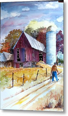 Tennesee Farm Metal Print