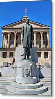 Tennessee Capitol Metal Print by Dan Sproul