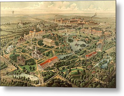Tennessee Centennial Exposition, Nashville Metal Print
