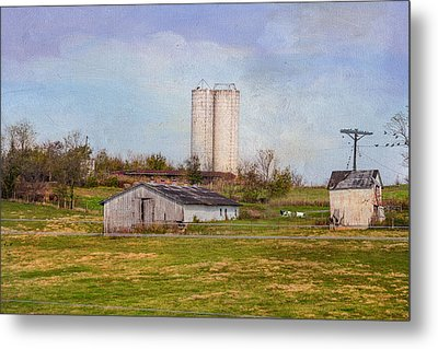 Tennessee Country Farm Metal Print by Mary Timman