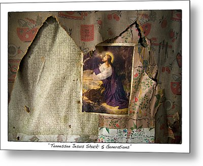 Tennessee Jesus Shack Five Generations Metal Print by James Neiss