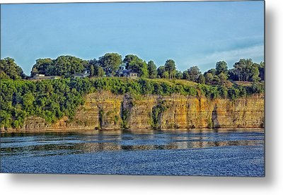 Tennessee River Cliffs Metal Print by Mountain Dreams
