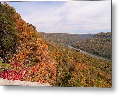 Metal Print featuring the photograph Tennessee Riverboat Fall by Paul Rebmann