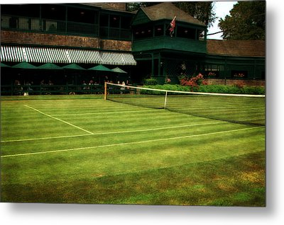 Tennis Hall Of Fame 2.0 Metal Print by Michelle Calkins