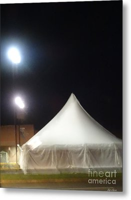 Tent Metal Print by Lyric Lucas