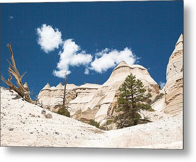 Metal Print featuring the photograph High Noon At Tent Rocks by Roselynne Broussard