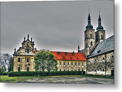 Tepla Monastery - Czech Republic Metal Print by Juergen Weiss