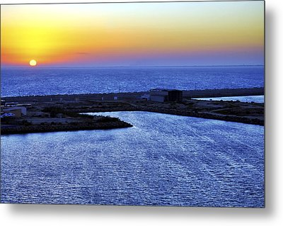 Tequila Sunrise Metal Print by Jason Politte
