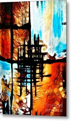 Tequila Sunrise Metal Print by Mariola Bitner