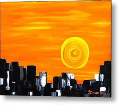 Tequila Sunset Metal Print by Stephen P ODonnell Sr