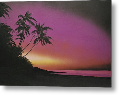 Tequilasunrise Metal Print by DC Decker