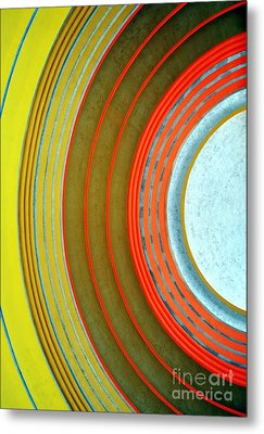 Terminal Art Metal Print by Mel Steinhauer