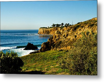 Metal Print featuring the photograph Terr Beach by Joseph Hollingsworth