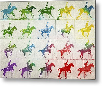 Terrestrial Locomotion Metal Print