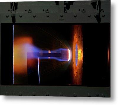 Testing Space Shuttle Tiles Metal Print by Nasa