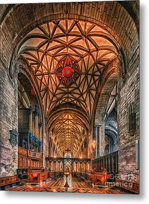 Tewkesbury Abbey IIII Metal Print by Jack Torcello