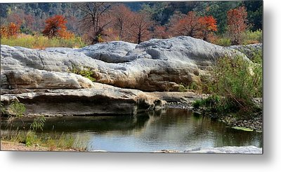 Metal Print featuring the photograph Texas Fall Colors by David  Norman
