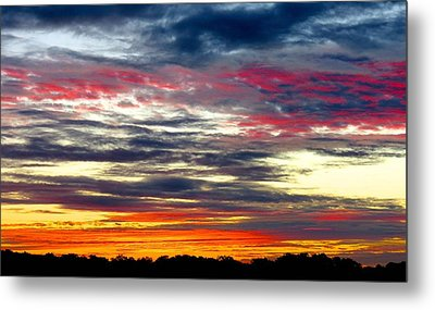 Texas Good Morning Metal Print