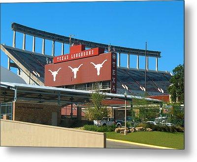 Texas Memorial Stadium - U T Austin Longhorns Metal Print
