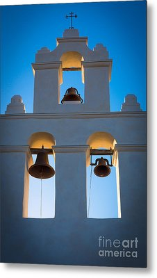 Texas Mission Metal Print by Inge Johnsson